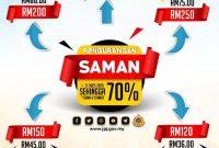 Diskaun 70% Saman JPJ / SPAD: Semakan Saman Online