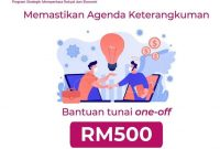 PEMERKASA Bantuan B40 RM500 One-Off Pada Jun 2021