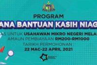 Dana Bantuan Niaga Kasih Melaka