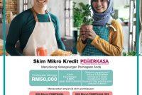 Permohonan Mikro Kredit BSN (PEMERKASA) Pembiayaan RM50,000