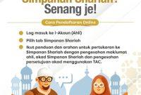Cara Tukar Akaun KWSP Ke Simpanan Syariah Melalui i-Akaun